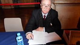 Mouloud Achour, président du jury du prix du président de la République