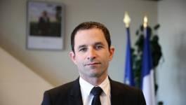 Benoît Hamon et Manuel Valls au 2e tour de la primaire de la gauche française