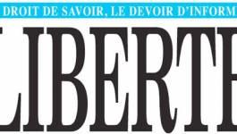 """Le directeur du quotidien """"Liberté"""" tire la sonnette d'alarme"""