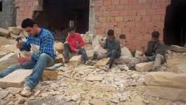Le salaire de la mort des forçats de la pierre à T'kout (Aurès)