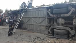 Sept morts et 34 blessés dans l'accident routier de Tiaret (Vidéo)