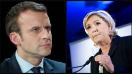 Présidentielle française : Emmanuel Macron et Marine Le Pen au second tour