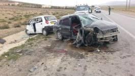 Deux femmes et un jeune homme décèdent dans un accident de la route à Batna