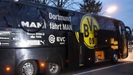 Trois explosions auraient visé le bus du club de Borussia Dortmund en Allemagne