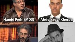 Mobilisation pour la libération des détenus en Algérie