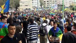Des milliers d'indépendantistes kabyles du MAK marchent à Tizi-Ouzou et Bgayet