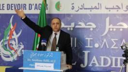 """""""Nous trafiquons les élections pour votre bien"""", nous disent-ils, affirme Soufiane Djilali"""