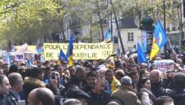 """Ferhat Mehenni à Paris : """"Nous donnerons des consignes de vote en France au 2e tour"""""""