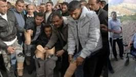 Dispersion musclée des invalides de la guerre contre le terrorisme à Blida