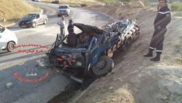 Accidents dramatiques en cascade à Batna