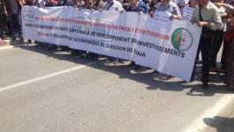 """""""Nous sommes Cevital"""" ont clamé des milliers de manifestants à Bejaia"""