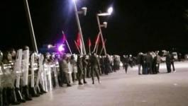 """""""Vive le Rif"""", répression et heurts entre manifestants et policiers à Al Hoceïma"""