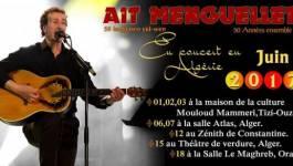 Lounis Aït Menguellet enchaînera les concerts en Algérie