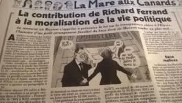 Un ministre épinglé par Le Canard Enchaîné pour une affaire immobilière en France