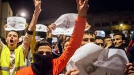 Heurts entre manifestants et policiers à Imzouren (Maroc)