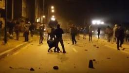 Rif : affrontements entre manifestants et policiers à Taghzut