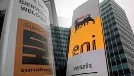 Hydrocarbures : signature d'accords d'exploitation de gisement entre Sonatrach et le groupe ENI