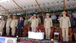 Sortie d'une promotion militaire à Batna