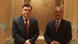 Fayez al-Sarraj et Khalifa Haftar s'engagent pour un cessez-le-feu