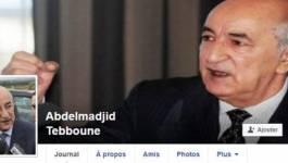 Arrestation de l'usurpateur d'identité de Abdelmadjid Tebboune sur Facebook