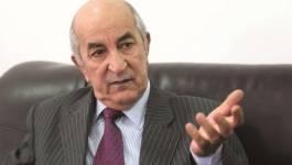 """""""L'Algérie n'aura pas recours à l'endettement extérieur"""", promet Tebboune"""