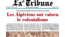"Le journal ""La Tribune"" au milieu du gué"