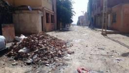 Tiaret : les habitants de la cité Sonatiba organisent un sit-in