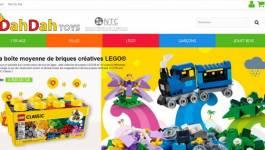 dahdahtoys.com, le premier site web de vente de jeux et jouets