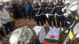 Les deux policiers victimes de l'attentat du commissariat de Tiaret inhumés
