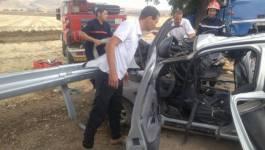 Quatre militaires meurent dans un terrible accident à Relizane