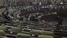 Les députés pro-Bouteflika désertent les sièges de l'APN