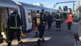 Une explosion signalée dans le métro de Londres