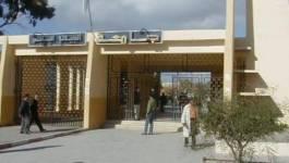 Université de Sidi Bel Abbès : l'heure est grave !