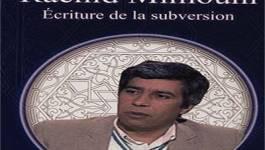 Rachid Mimouni : le soleil inconsolé