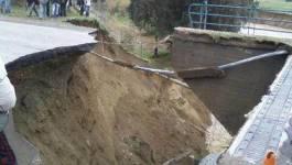 Intempéries : 3 victimes à El Tarf, des villageois isolés à Tizi Ouzou