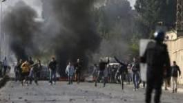 2e jour de protestation des jeunes chômeurs de Aïn El Bia