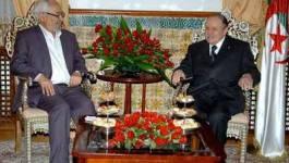 Bouteflika et Ouyahia reçoivent Rachid Ghannouchi