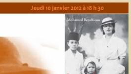 Jeudi 10 janvier à 18h : rencontre avec Benchicou et La Parfumeuse au Centre culturel algérien de Paris