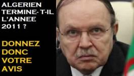 L'Algérie en décembre 2011 : une panne générale du pouvoir