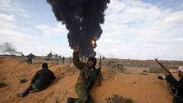 Les insurgés libyens reculent dans le golfe de Syrte