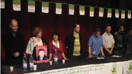 Des syndicalistes, chômeurs, femmes et jeunes en meeting à Alger