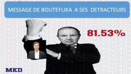 Message de Bouteflika à ses détracteurs