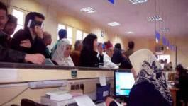 Les postiers algériens en grève