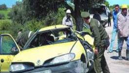 Tiaret : six morts et sept blessés dans trois accidents