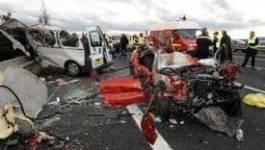 Accidents routiers : 125 morts et 281 blessés en deux semaines