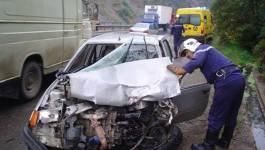 Algérie : Treize morts et 72 blessés dans 35 accidents de la route durant la journée de mardi