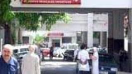 Rassemblement de protestation du personnel hospitalier d'Azazga