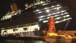 Un navire de croisière s'est échoué en Italie : trois morts
