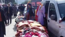 Alger: colère contre les jeunes marchands à la sauvette