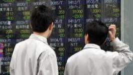 Les Bourses européennes à la baisse